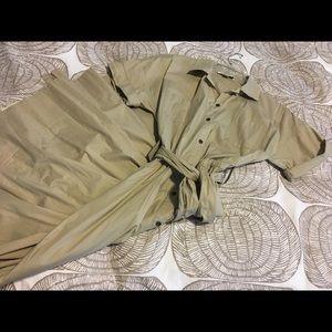 Banana Republic safari dress size 8